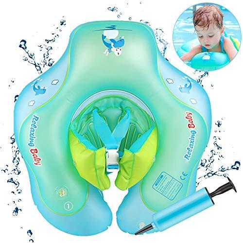 Baby schwimmring mit schwimmsitz, Baby Schwimmen Ring Baby Schwimmhilfe Kinder Aufblasbare Schwimmer baby Schwimmtrainer für Kinder von 6 bis 36 Monaten, L