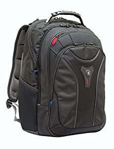 """Wenger Carbon 17"""" Geräumiger premium Rucksack mit optimalen Schutz für das Notebook , MacBook Pro , Rucksack schwarz"""