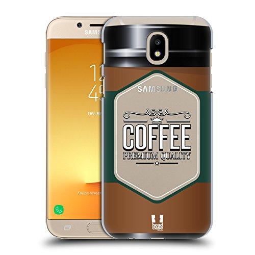 Head Case Designs Kaffeetasse Lebenswichtige Güter Ruckseite Hülle für Samsung Galaxy J7 2017 / Pro