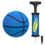 Mini Pelota de Baloncesto,Deporte Baloncesto con Bomba Suave y Seguro de Interior o Piscina para Niños