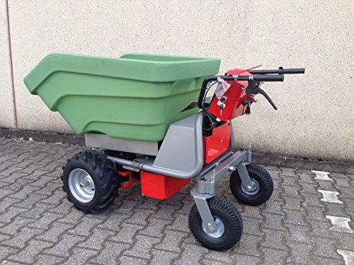 El Original-Fabricado en Alemania-PowerPac mce400con 350ltr. Massive plástico hueco-Batería, carretillas con motor, carretillas dumper carretilla
