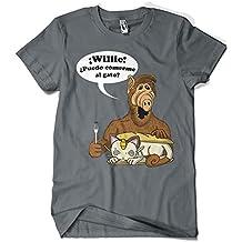 1596-Camiseta Premium, Alf Meowth (Legendary P,)