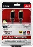 Speedlink Shield-3 HDMI Kabel für PlayStation PS3/PS4 (Unterstützt 4K Auflösung in 3D, 60 Fps, 2160p, HDMI 2.0, Ethernet, 3m)