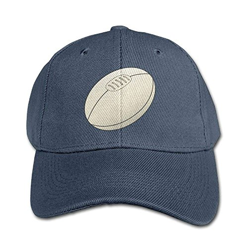 WPLON Personality Caps Hats Rugby Ball Pure Color Baseball Cap Cotton Adjustable Kid...
