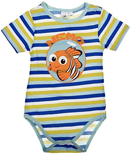 Disney Buscando a Dory y Nemao Body bébé algodón azul 12 meses