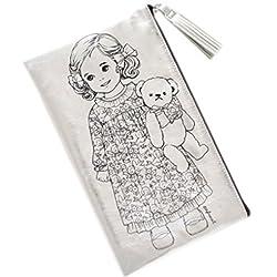 Afrocat Paper Doll Mate Golden Tassel Pouch Multi Purpose Organizer Alice