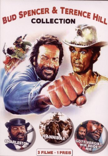 Bud Spener & Terence Hill Collection incl. Hanniball / Charleston / Gott vergibt mir beide nie