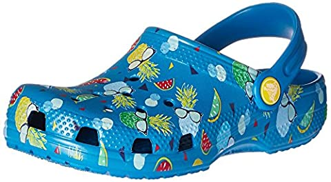 CROCS - Kids CLASSIC SUMMER FUN CLOG - ultramarine, Größe:22-24