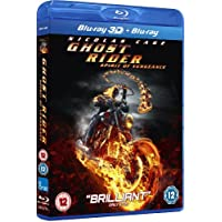 Ghost Rider Spirit Of Vengeance 3D Blu Ray and Blu Ray