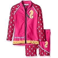 Zunblock chica UV 50 plus Sets Seahorse rosa Hollywood Talla:122/128