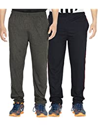 Yo Republic Mens Cotton Track Pant Combo Offer (Pack of 2)