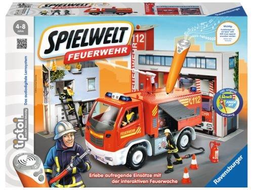 Ravensburger 00824 - tiptoi Spielewelt (Zubehör Kit Feuerwehrmann)