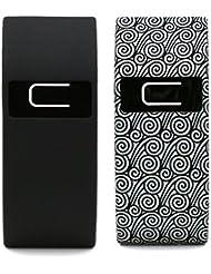 Woodln Silikon-Band-Abdeckung Fällen für fitbit Batch- oder Fitbit Lade HR-Fall-Abdeckung Auto-Abdeckung mit Fitbit Charge Anti-Dust Stecker