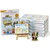 Funvention Little Art Gallery (Pack of 6) - Express Your Imagination - Puzzle & Coloring Art Kit (Birthday Return Gift Pack) - Art & Craft Toy - Learning Kit for Kids