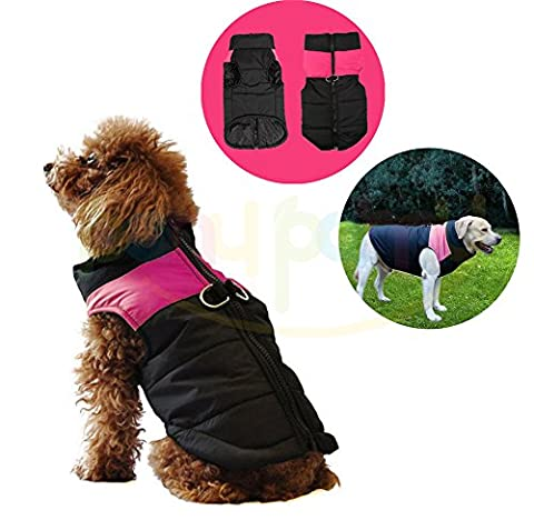 Pet Dogs Winter Vest Coat Jacket Apparel - Dog Cat Warm Soft Light Waterproof Coat Jacket Vest Harness Padded Puffer Warm Winter Clothes For Small to Large Dog - Price Xes (S,
