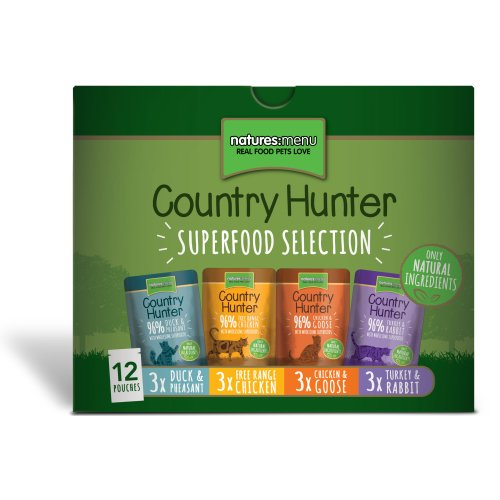 Country-Hunter-Superfood-Selection-Cat-Pouches-Pack-of-12