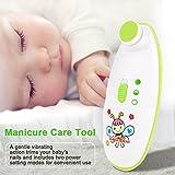 Nagelfeile Baby, elektrische Nagelknipser Professionelle Baby Care Maniküre für Zehen und Nägel