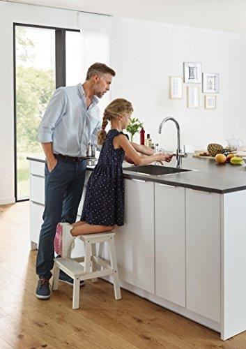 Grohe Blue Home Duo - 2-in-1 Trinkwassersystem und Küchenarmatur (gekühlt, gefiltert, mit Kohlensäure, C-Auslauf) 31455000 -