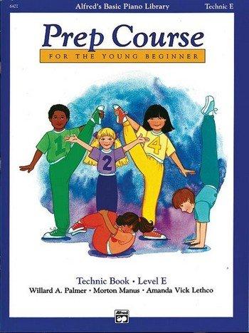 Palmer, Manus & Lethco: Alfred Prep Course Technic Book Level E