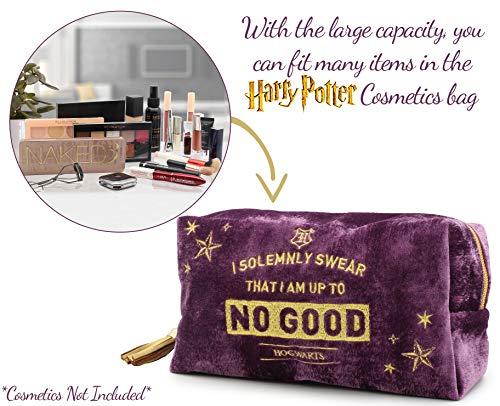51EHt7k%2BB6L - Harry Potter Neceser de Viaje para Mujer y Niñas Organizador de Bolso Cosmético Accesorios de Viaje Estuche de Maquillaje
