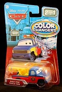 Disney Pixar Cars Race Tow Truck Tom - Color Changers - Véhicule Miniature - Voiture