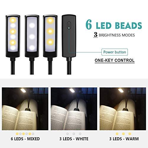 Zoom IMG-3 lampada da lettura omeril clip