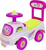 Rutschauto in 10 verschiedenen Modellen - Ein guter und preiswerter Aufsitzwagen Rutschwagen Lauflernwagen Kinderfahrzeug , Modell:Rose