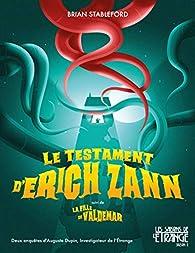 Le testament d'Erich Zann par Brian Michael Stableford