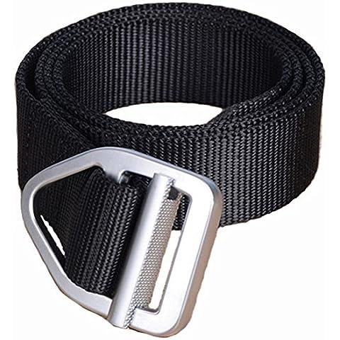 yacn Hombres Táctica Cinturón de nailon 1,57