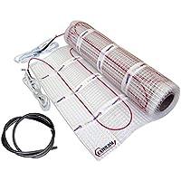 EXTHERM: Alfombra Calefactora de Cable Single Cable 100w/m² para Instalación en Suelos Radiantes de 3m² - Calidez Cómoda en Todo su Hogar - Soluciones de Energía Renovable