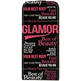 Akashi Etui à rabat pour iPhone 5/5S Glamour