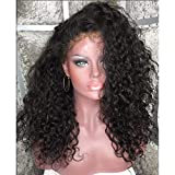 Fire wolf Perruque:Humain Full Lace sans Colle Full Lace Cheveux Brésiliens Kinky...