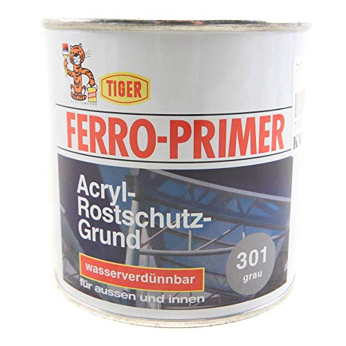 Rostschutzgrund Tiger Ferro Primer grau 301 matt 0,375l