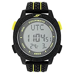 SONATA SF by Sonata Carbon II Series Digital Watch (77058PP01J)