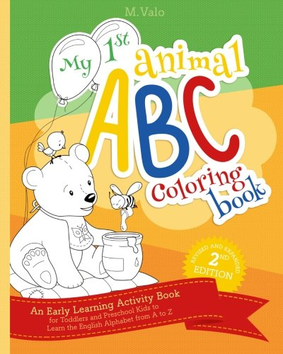DOWNLOAD My First Animal ABC Coloring Book An Activity Book For