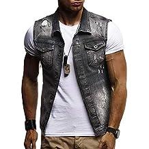 Amazon.es: chaquetas americanas hombre LINO - Negro
