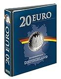 Lindner PUBLICA M Album 20 Euro-Silbermünzen Deutschland 3536R, Ringbinder im 20 Euro-Design