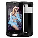Blackview BV8000 Pro Smartphone,5.0 Pollici Display Android 7.0 4G Telefono Cellulare,IP68 Waterproof /Dustproof /Shockproof Moible Phone,MTK6757 Octa-core 2.6GHz,6GB RAM + 64GB ROM,16.0MP+8.0MP Dual Camera,Dual Sim 4180mAh Batteria,Gesture Wakeup,WiFi/Hotkont/GPS/OTG/ OTA/NFC Cellulare - Argento