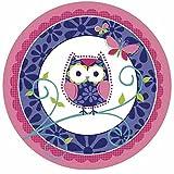 Tortenaufleger * TRENDY EULE * für (Lieblings-) Torten und Kuchen // Kinder Geburtstag Kindergeburtstag Kinderparty Party Kuchen Deko Torte Waldtiere Owl