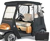 GreenLine Club Car Precedent 2 Passenger Drivable Golf Cart Enclosure - Jet Black - Best Reviews Guide