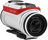 Tomtom 1LB0.001.01 Bandit (Bundle), Action Camera, Premium Pack - White/Red