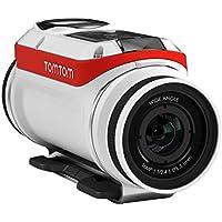TomTom Bandit Premium Pack Actionkamera (Inkl. umfangreichem Zubehör, Wasserdicht, keine Kabel erforderlich, einfache Bedienbarkeit, eingebaute Sensoren)