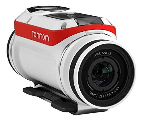 TomTom Bandit Premium Pack Actionkamera (Inkl. umfangreichem Zubehör, Wasserdicht, keine Kabel erforderlich, einfache Bedienbarkeit, eingebaute Sensoren) (Garmin Accessory Pack)