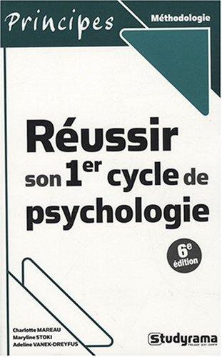 Russir son 1er cycle de psychologie