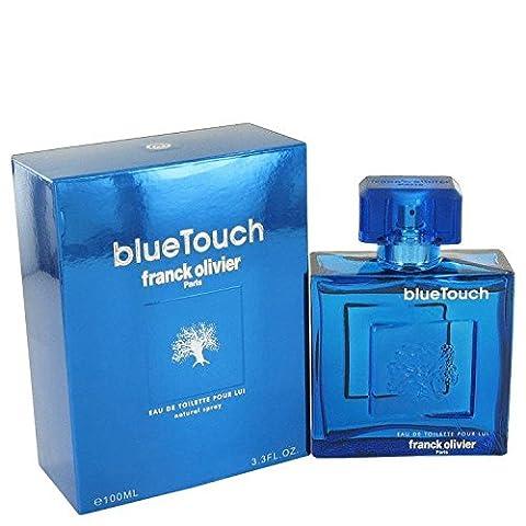 Blue Touch by Franck Olivier 3.4 oz Eau De Toilette Spray for Men by Franck Olivier