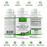 Magnesiumglycinat-Kapseln 250 mg – 90 vegetarische Kapseln | Hochdosiert, vegan, gut aufnehmbare Form | KOGNITIVE GESUNDHEIT & MUSKELGESUNDHEIT - Aus ISO-zertifizierten Betrieben