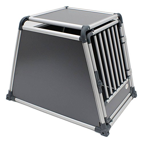 Rinderohr Alu Transportbox - M 76 x 55 x 60 cm