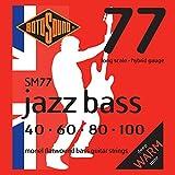 Best Flatwound Bass Strings - Rotosound Monel Hybrid Gauge Flatwound Bass Strings Review