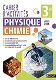 Cahier de Physique-Chimie 3e
