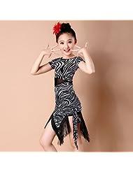 Latina trajes de baile niñas de los niños bailan la ropa concurso de disfraces de baile , 1 , 120cm